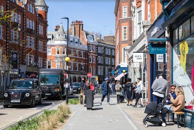 Marylebone High Street. Image: Sister London