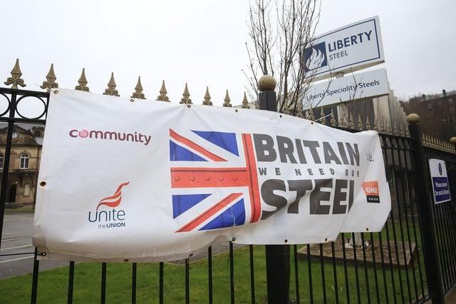 Liberty Speciality Steels, Stocksbridge. Picture: Chris Etchells
