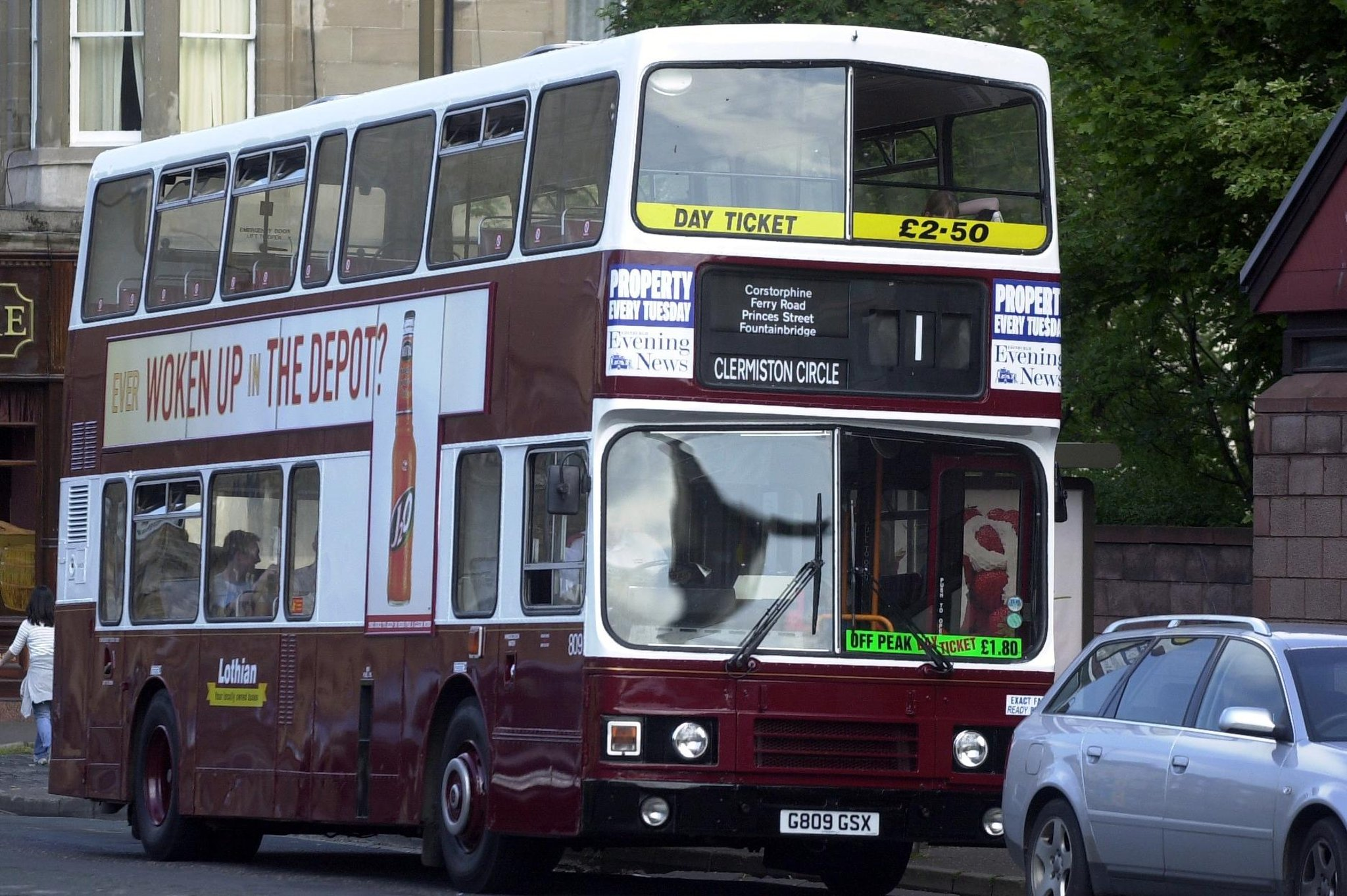 Lothian Buses pull services from Edinburgh route after anti-social behaviour
