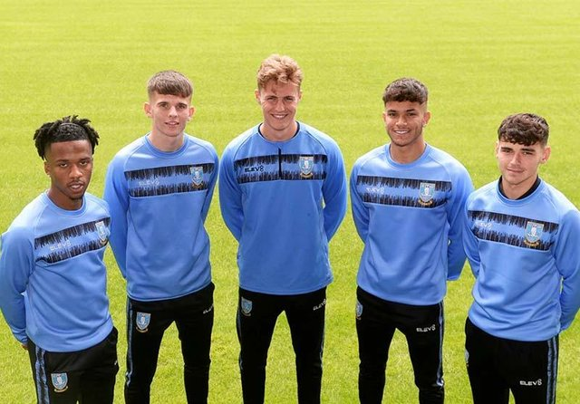 Basile Zottos, Jay Glover, Alex Bonnington, Paulo Aguas and Will Trueman have all signed their first professional deals at Sheffield Wednesday. (via swfc.co.uk)