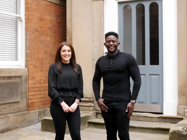 Two new faces for expanding CODA Architecture team Lara Starmore and Donald Kudangirana