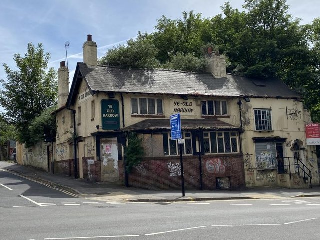 The former Ye Old Harrow pub will be auctioned online on July 13.