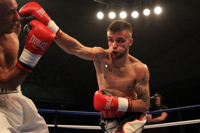 Sheffield fighter Tommy Frank has now lost back-to-back fights.