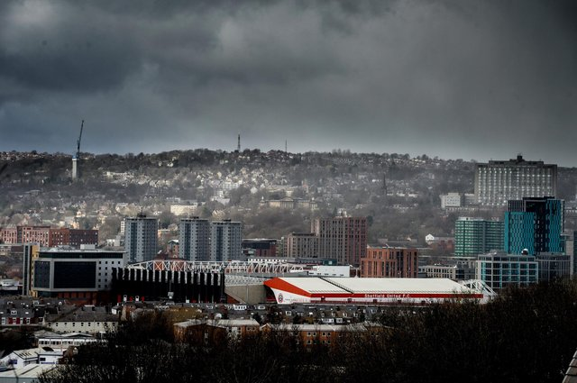 Storm clouds gather over Sheffield United's stadium