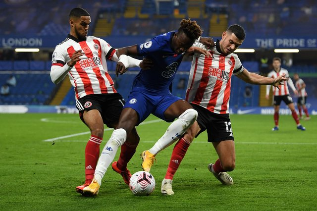 Tammy Abraham of Chelsea could face Sheffield United again this weekend (Photo by Mike Hewitt/Getty Images)