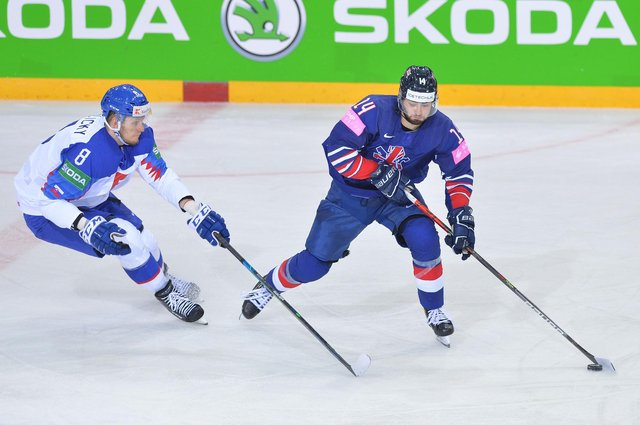 GB Liam Kirk on the puck, pic by Dean Woolley