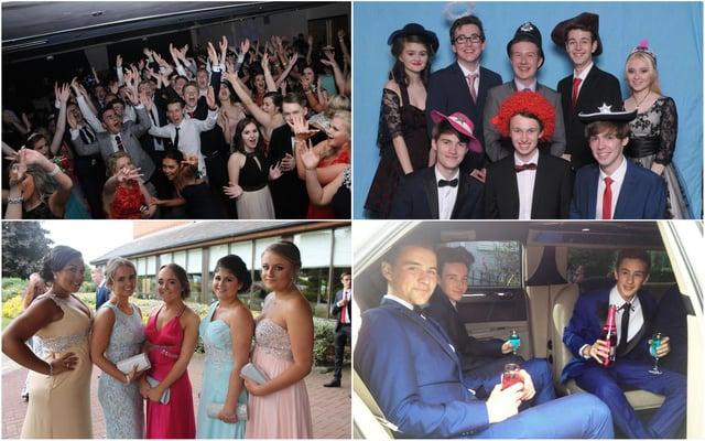 Sheffield prom night fun