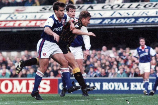 Former Sheffield Wednesday forward Nigel Jemson.