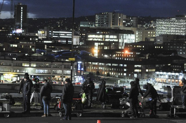 Filming in Sheffield for the new Netflix drama Zero Chill, which will be available to view from March 15