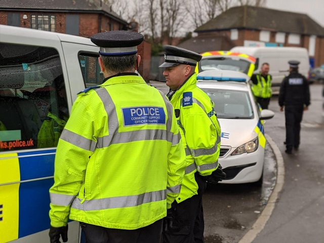 Police officers have powers to enforce lockdown rules during the coronavirus outbreak