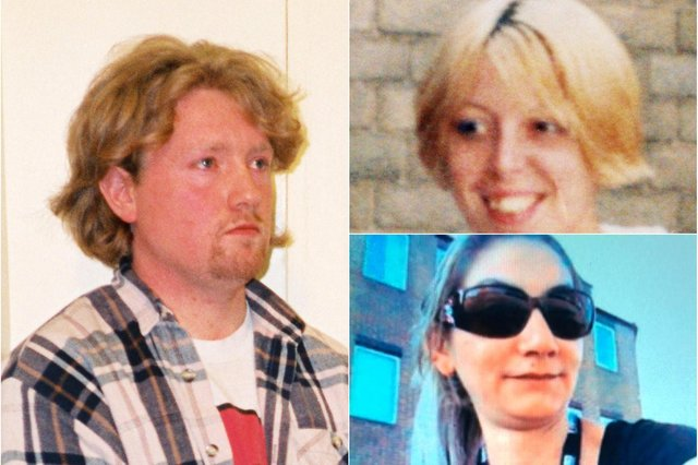 Gary Allen and his tragic victims - PA