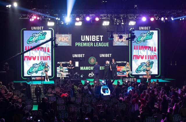 Premier League Darts will return to The FlyDSA Arena on April 15 2021.