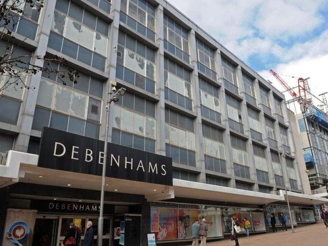 Debenhams on The Moor