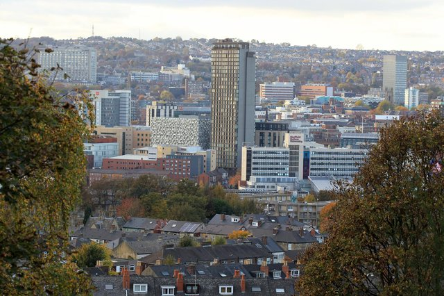Sheffield City Centre.