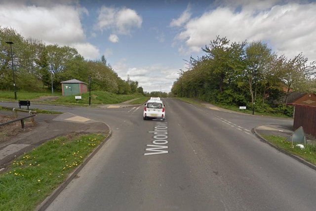 The crash happened at the junction of Hastilar Road and Woodgrove Avenue (photo: Google).