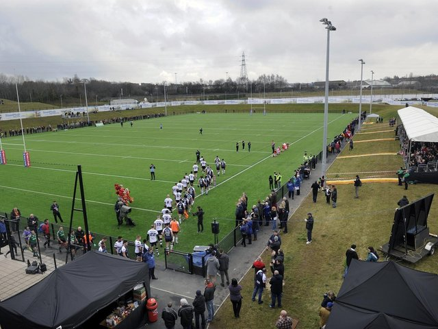 Sheffield Eagles will see no cup games at the Olympic Legacy Park this season.