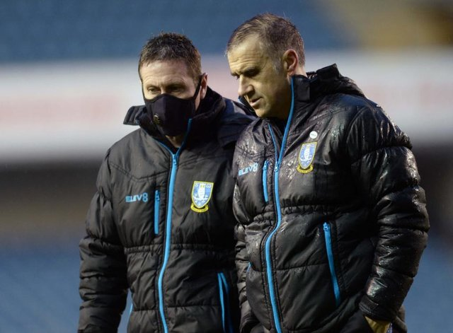 Former Sheffield Wednesday fitness man Tony Strudwick (left) has left the club for Arsenal.