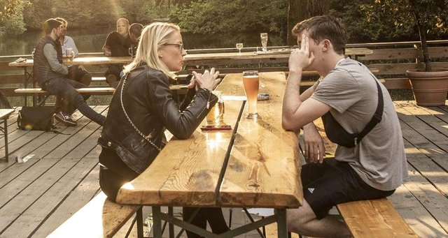 Pubs and restaurants can reopen from April 12 for outdoor drinking and dining, it has been confirmed (Pic: Getty)