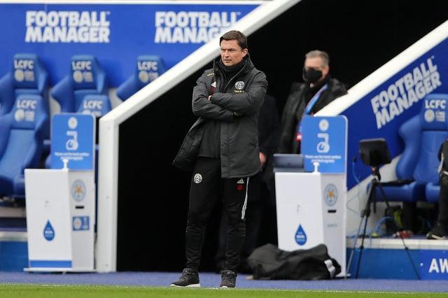 Where Sheffield United interim boss Paul Heckingbottom ranks in the Premier League sack race