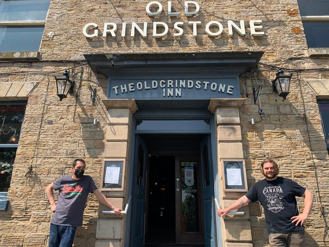 Adam Mur and Will McMahon are co-managers of the Old Grindstone in Crookes