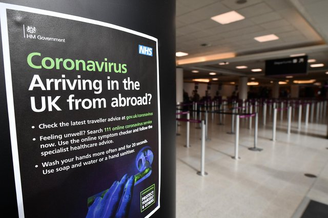 From July 19, fully vaccinated people returning from amber list destinations will not have to quarantine. (Photo by Jeff J Mitchell/Getty Images)