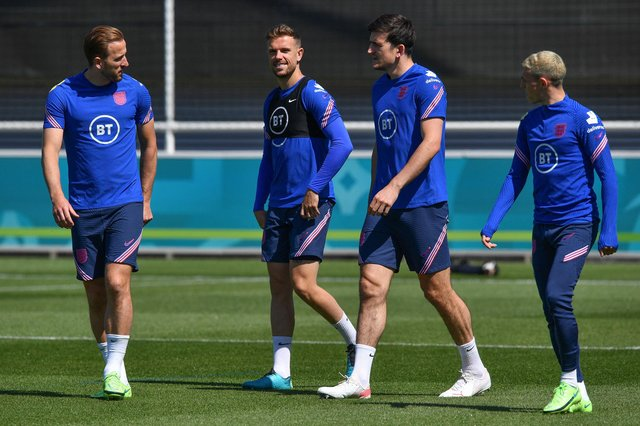 Harry Maguire has declared himself fit and available for England's eagerly-anticipated European Championship clash with Scotland.
