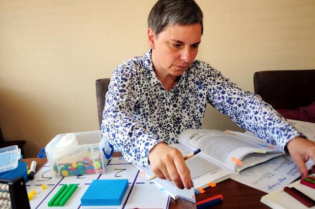 Former immunologist turned mathematician, Marijke Walters.