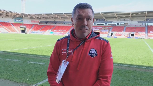 Sheffield Eagles head coach Mark Aston insisted the result was no shock to him.