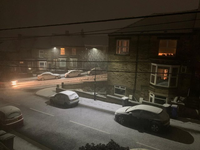 Snow in Crookes