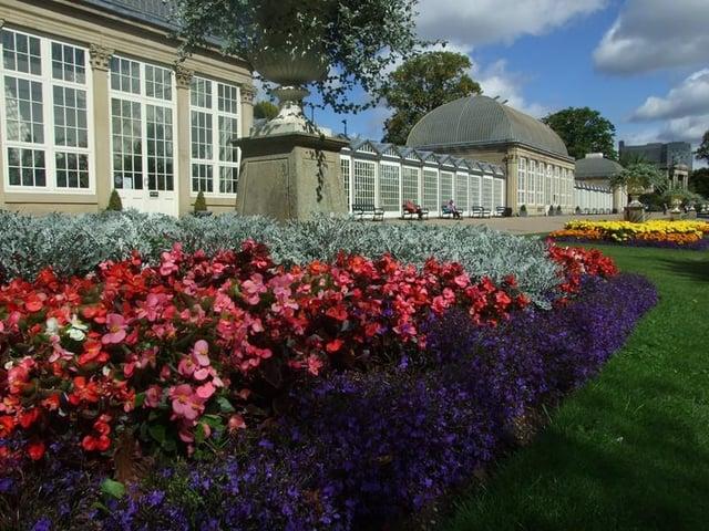 Pavilion at Sheffield Botanical Gardens