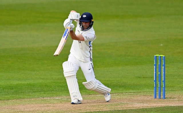 Adam Lyth has been in fine form for Yorkshire this season.  (Photo by Dan Mullan/Getty Images)