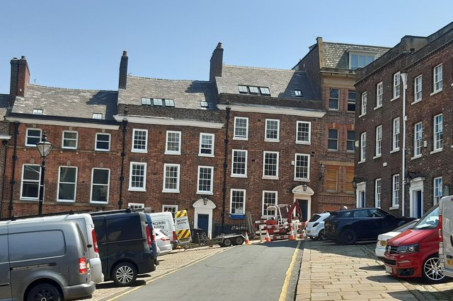 Built around 1771, numbers 4 and 6 Paradise Square have returned to residential.