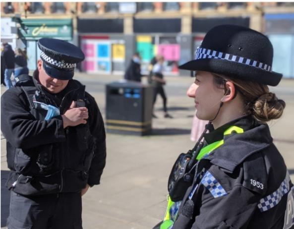 Five arrests have been made over burglaries in Sheffield city centre as more businesses re-open