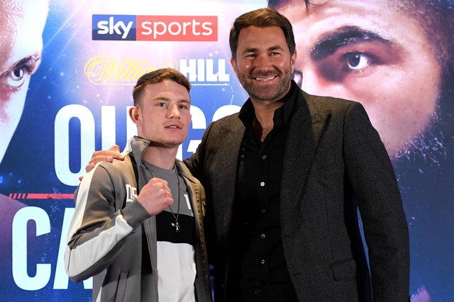 Dalton Smith is promoted by Eddie Hearn's Matchroom Boxing.