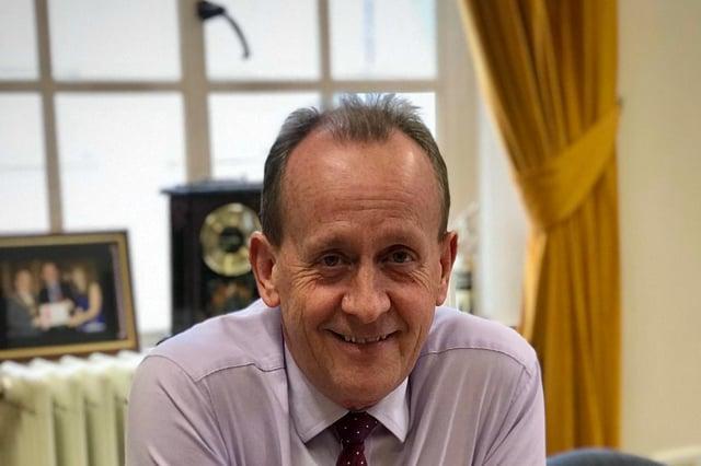 Sir Steve Houghton.