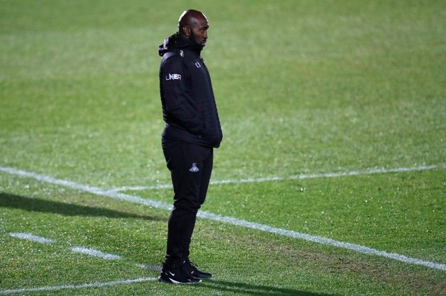 Darren Moore.  (Photo by George Wood/Getty Images)