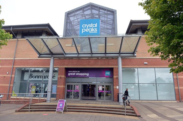 Travel giant TUI's store at Crystal Peaks in Sheffield is one of more than 200 branches to have closed permanently since the Covid pandemic began