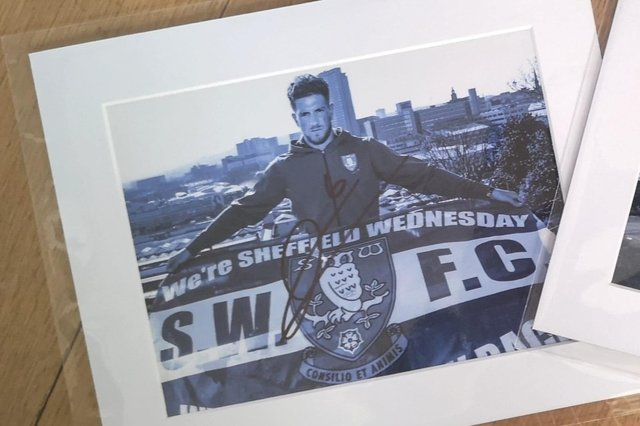 Lifelong Sheffield Wednesday fan and professional photographer Neil Kitson is aiming to boost his fundraising for St Luke's Hospice.