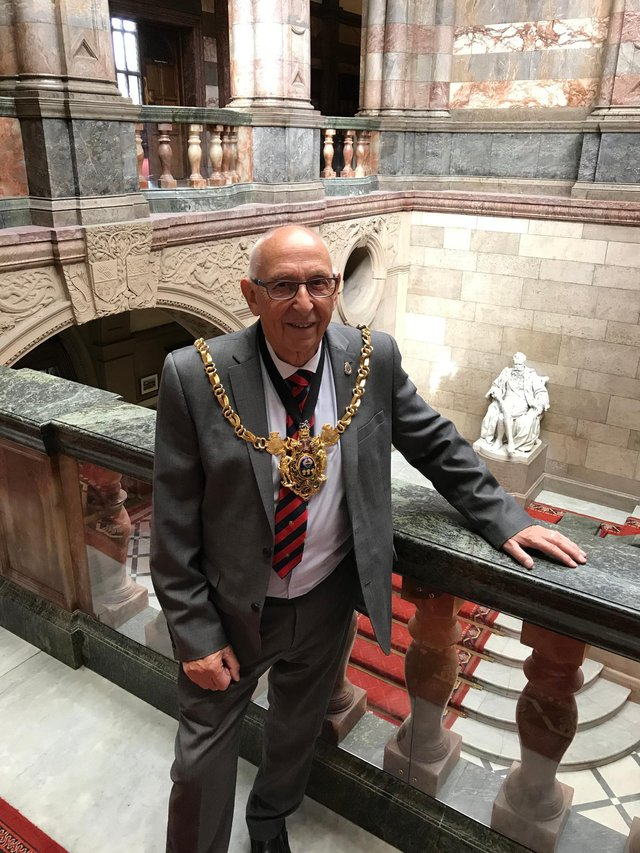 Labour councillor Tony Downing is the current Lord Mayor