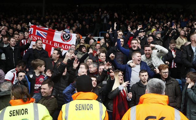 Sheffield United fans have an excellent re;ationship with the team: Simon Bellis/Sportimage