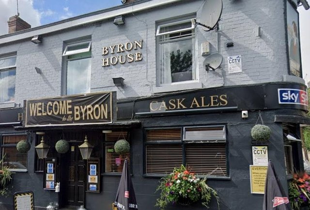 Byron House pub in Nether Edge