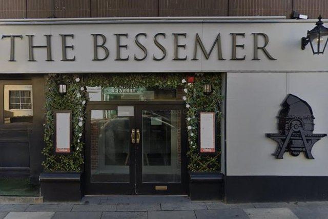 The Bessemer on Fountain Precinct in Sheffield city centre