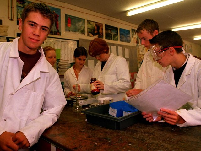 Joseph Grundy a pupil at Tapton School was the top GCSE Science Student in the country in 1998