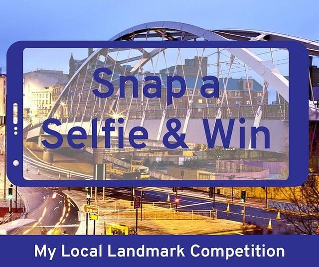 Snap a selfie & win