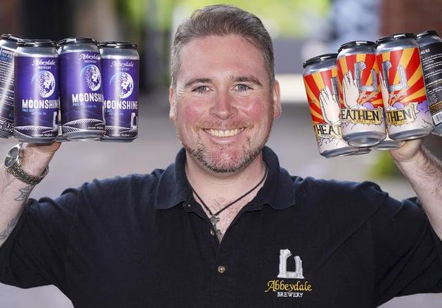 Dan Baxter Sales Director at Abbeydale Brewery. Picture Scott Merrylees