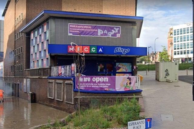Mecca Bingo on Flat Street in Sheffield.