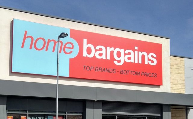 The teenager says she loves working at Home Bargains