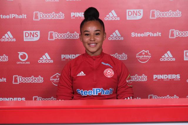 Sheffield United Women midfielder Tamara Wilcock.