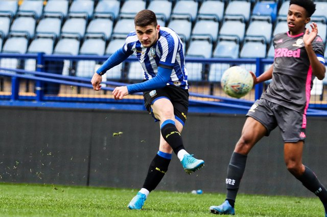 Preslav Borukov is no longer a Sheffield Wednesday player after his release from the club earlier this year. Pic: Isaac Parkin.