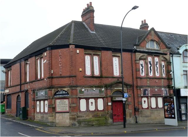 La Chambre's former home in Attercliffe, Sheffield